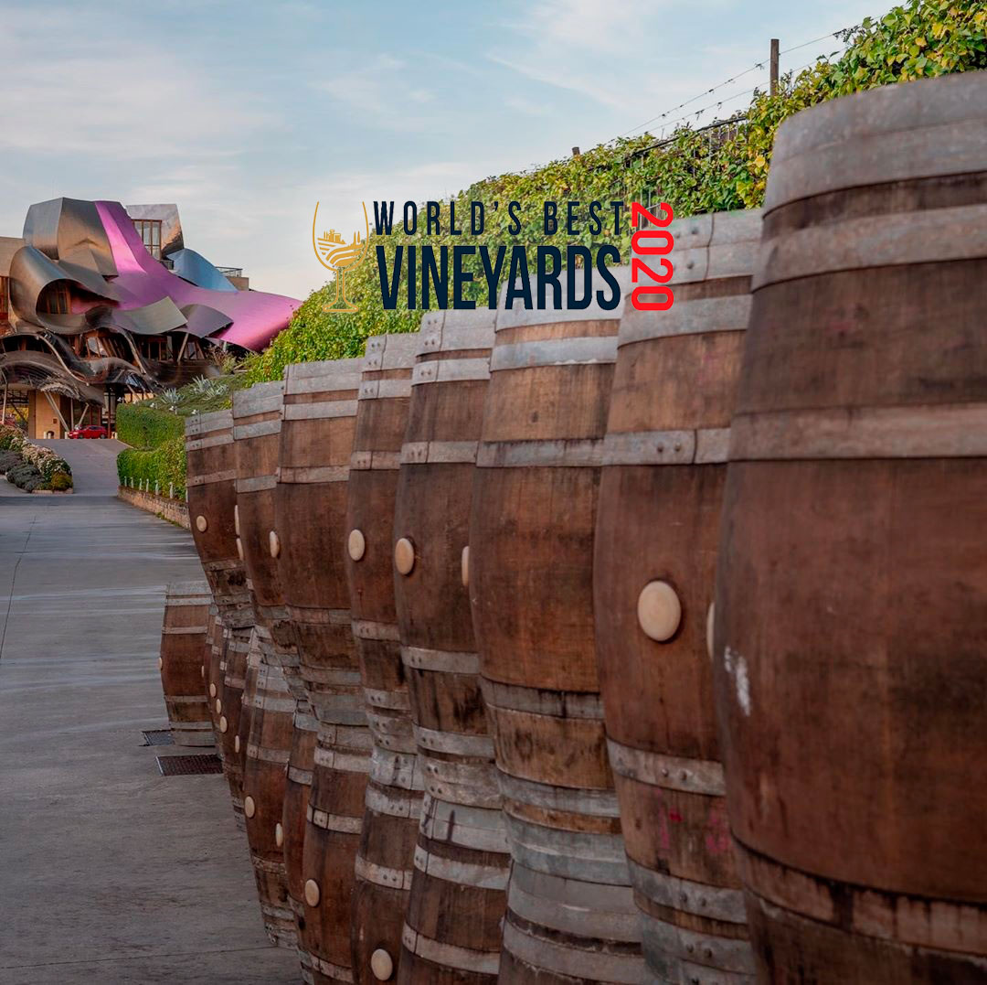 Premio World's Best Vineyards Marqués de Riscal